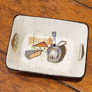 Vintage | Royal Sealy Cheese and Wine Dish
